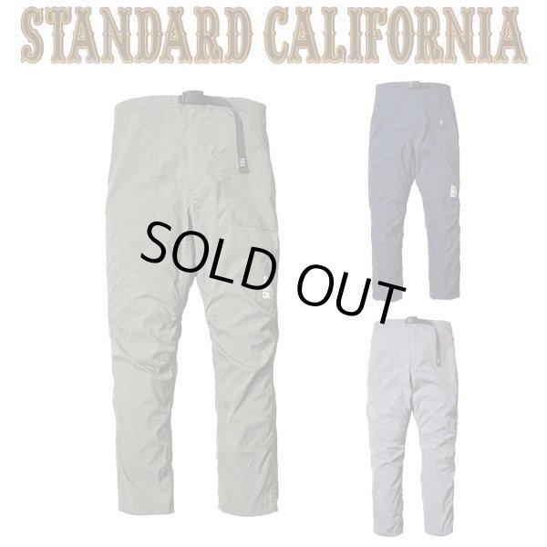 画像1: STANDARD CALIFORNIA [スタンダードカリフォルニア] SD COOLMAX STRETCH EASY PANTS [OLIVE,NAVY,GRAY] クールマックスストレッチイージーパンツ (オリーブ、ネイビー、グレー) AIS     (1)