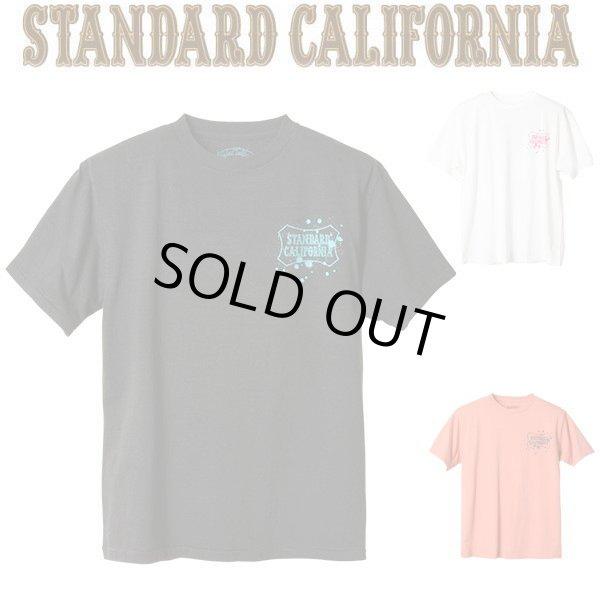 画像1: STANDARD CALIFORNIA [スタンダードカリフォルニア] SD Splash Shield Logo T [BLACK,WHITE,PINK] スプラッシュシールドロゴTシャツ  (ブラック、ホワイト、ピンク) AIS     (1)