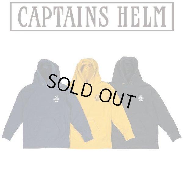 画像1: Captains Helm [キャプテンズヘルム] CALIFORNIA HOODIE [BLACK,MUSTARD,NAVY] カリフォルニアフーディー プルオーバーパーカー (ブラック、マスタード、ネイビー) CH19-AW-T12 AIA     (1)