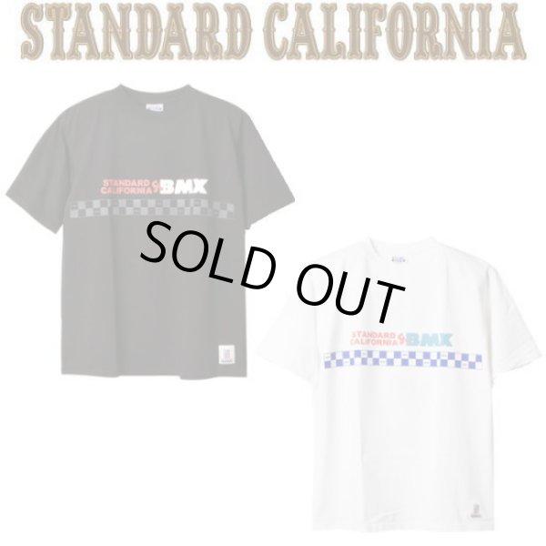 画像1: STANDARD CALIFORNIA [スタンダードカリフォルニア] Heavyweight BMX Logo  T [Black,White] ヘビーウェイトBMXロゴTシャツ (ブラック、ホワイト) AJS (1)