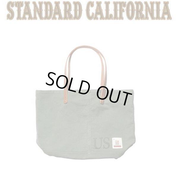 画像1: Hand Light × STANDARD CALIFORNIA [ハンドライト×スタンダードカリフォルニア] Military Tote [Olive] ミリタリートートバッグ  (オリーブ) AJA (1)