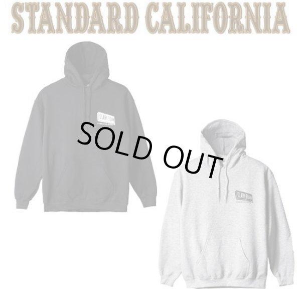 画像1: CLARK FOAM × STANDARD CALIFORNIA [クラークフォーム×スタンダードカリフォルニア] Pullover Hood Sweat [Black,Gray] プルオーバーフードスエット (ブラック、グレー) AJA (1)